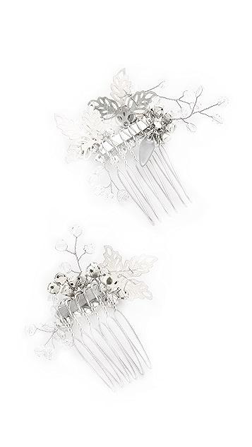 Jenny Packham Lazuline Mini Crystal Comb Set