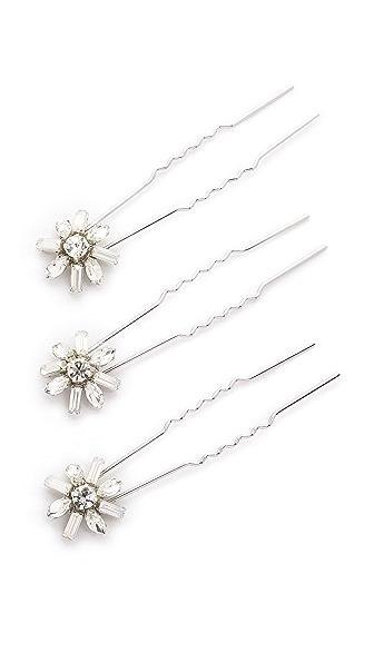 Jenny Packham Gazelle Crystal Hair Pin Set