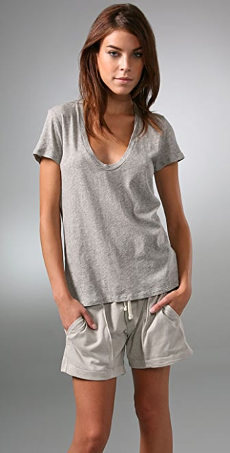 James Perse Short Sleeve Relaxed Tee