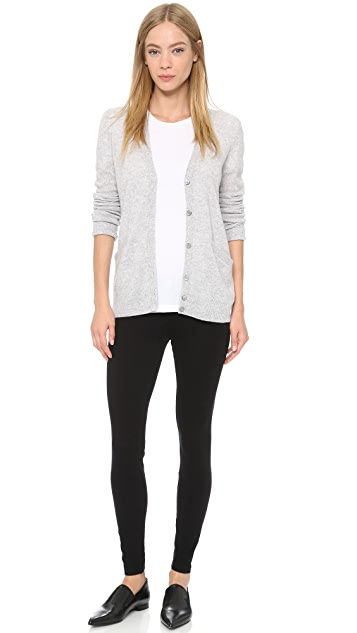 James Perse Brushed Jersey Leggings