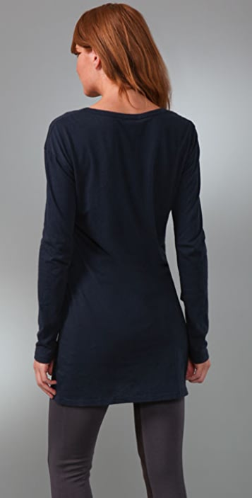 James Perse Long Sleeve Tunic