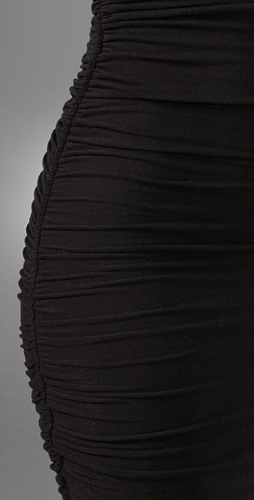 James Perse Sleeveless Draped Dress