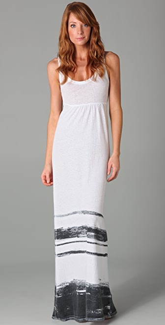 James Perse Summer Stripe Long Dress