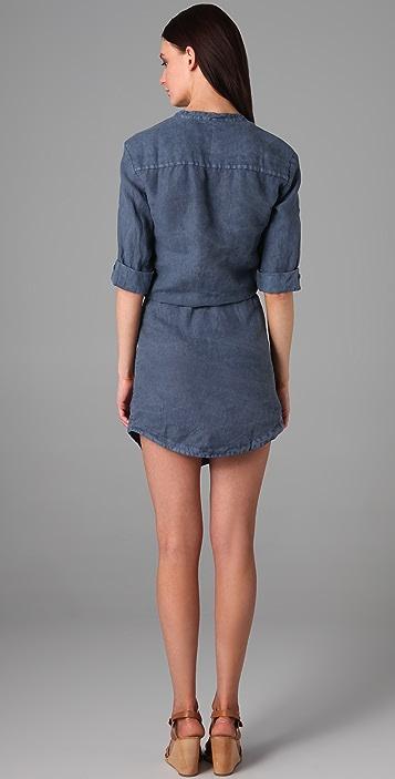 James Perse Linen Shirtdress