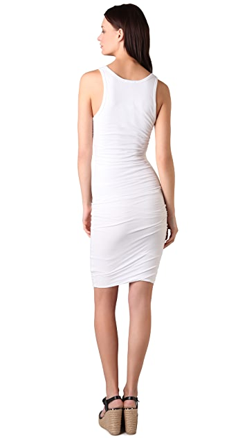James Perse Twisted Tank Dress