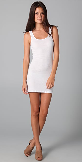 James Perse Long Rib Tank Dress  SHOPBOP