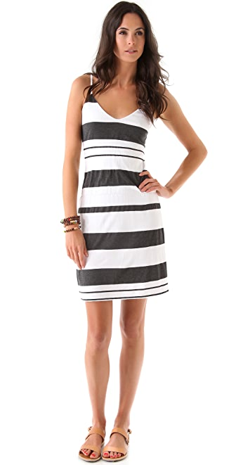 James Perse Stripe Sundress