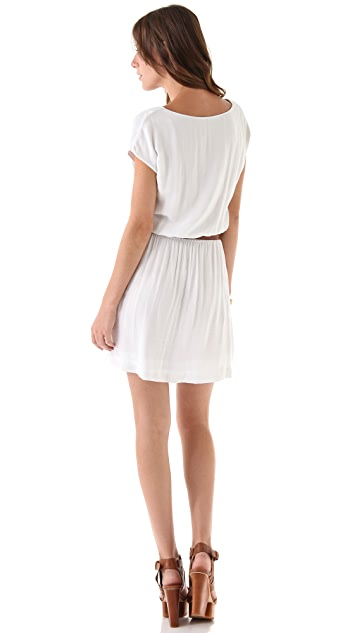 James Perse Elastic Waist Kimono Dress