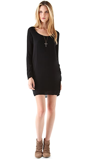 James Perse Soft Raglan Shift Dress