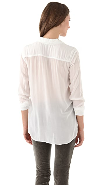 James Perse Double Needlework Shirt