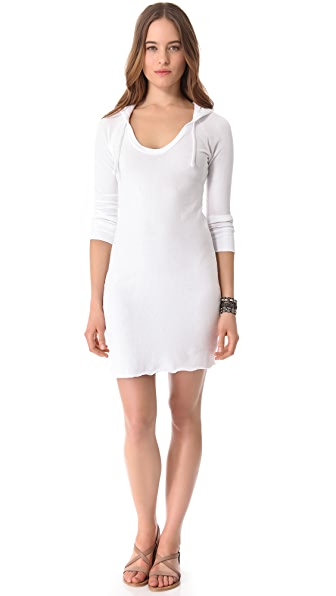 James Perse Raglan Hoodie Dress