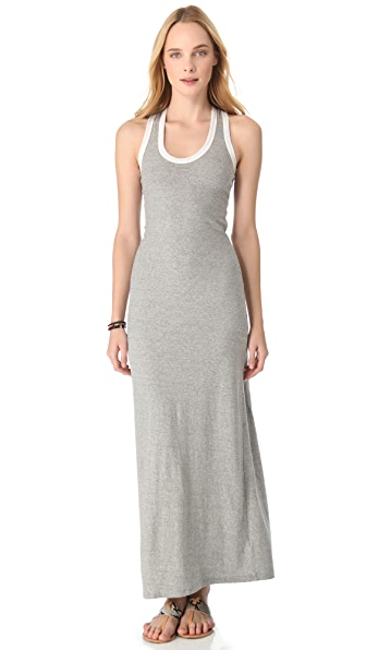 James Perse Racer Back Tank Dress