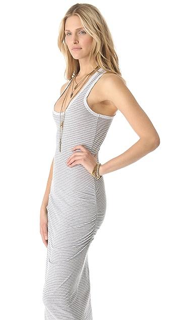 James Perse Striped Tank Dress