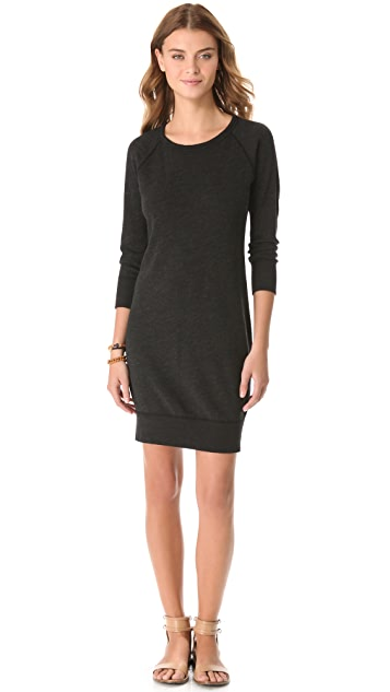 James Perse Raglan Sweatshirt Dress