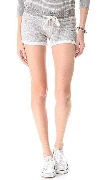 James Perse Fleece Shorts