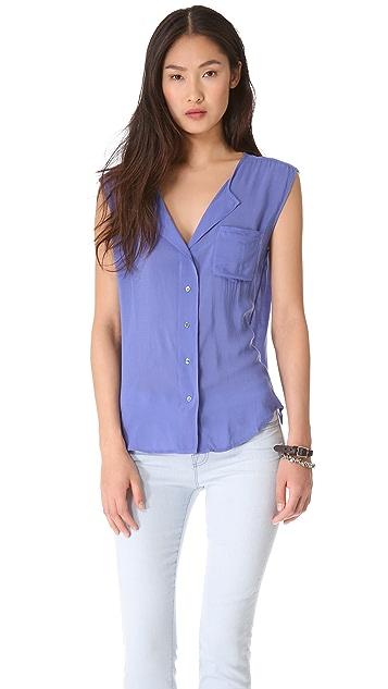 James Perse Soft Shell Shirt