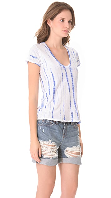 James Perse Ghost Dye Casual Tee