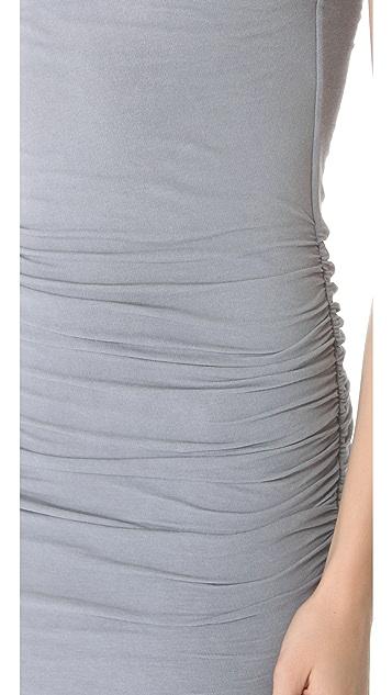 James Perse Ruched Raglan Dress