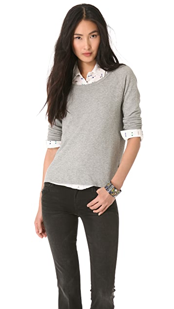 James Perse Vintage Cotton Raglan