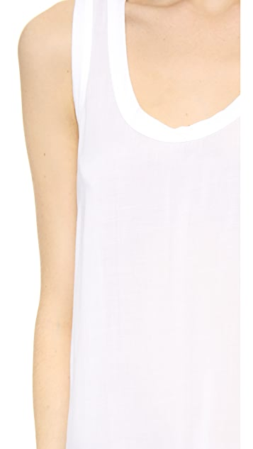 James Perse High-Low Soft Woven Tank