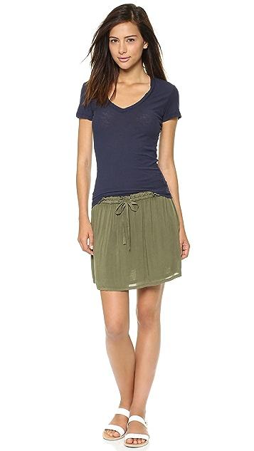 James Perse Paper Bag Skirt
