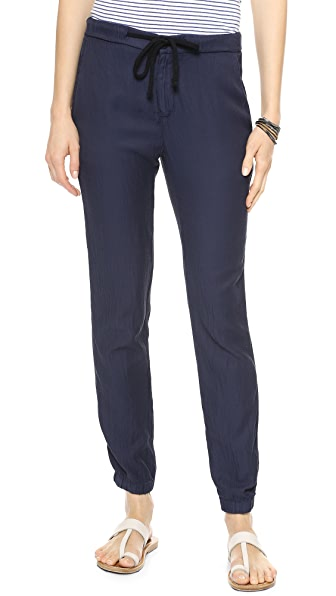 James Perse Draped Twill Pants