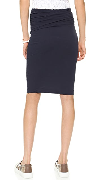 James Perse Twisted Skirt