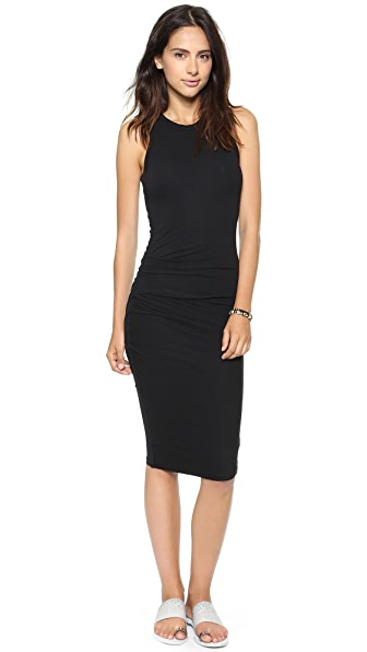 James Perse Skinny Tucked Tank Dress