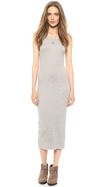 James Perse Cashmere Rib Tank Dress