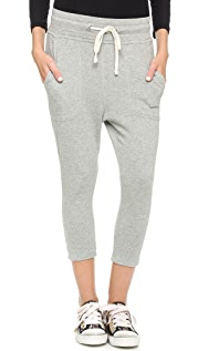 James Perse Cropped Sweatpants
