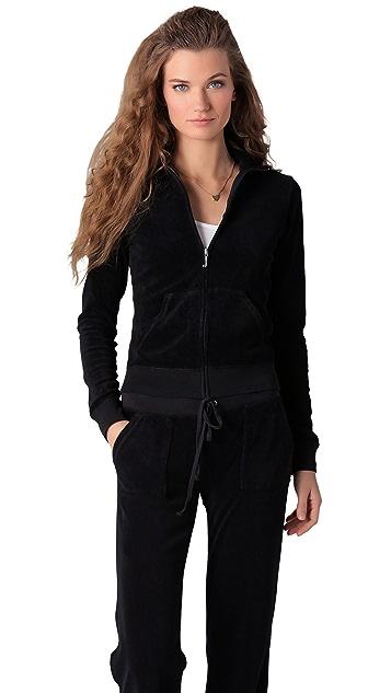 Juicy Couture Terry Zip Track Jacket