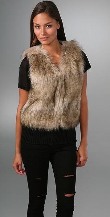 Juicy Couture Faux Fur Vest