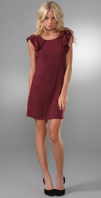 Juicy Couture Tuck Sleeve Dress
