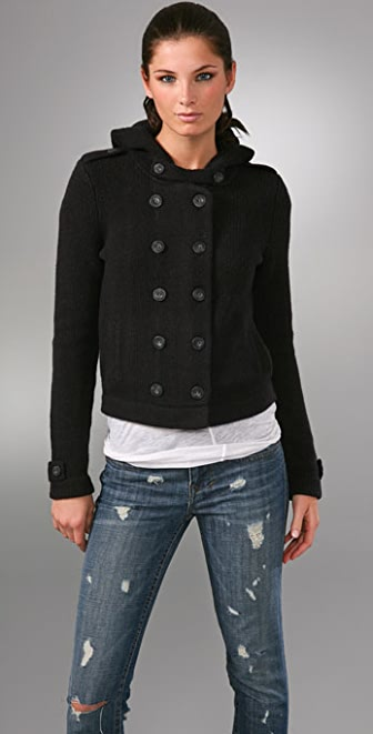 Juicy Couture Double Breasted Sweater