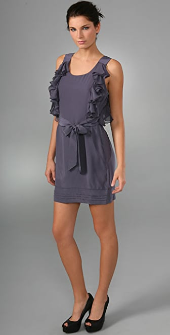 Juicy Couture Side Ruffle Tunic Dress