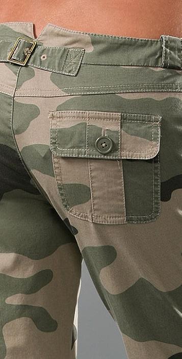 Juicy Couture Camo Slim Cargo Pants