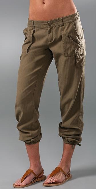 Juicy Couture Parachute Utility Pants