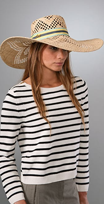 Juicy Couture Open Weave Sunhat