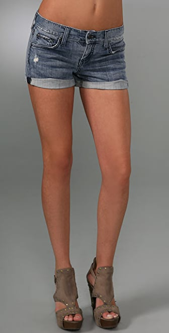Juicy Couture Cuffed Jean Shorts
