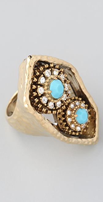 Juicy Couture Nostalgia Cluster Ring