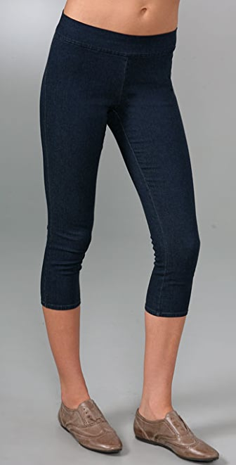Juicy Couture Cropped Denim Leggings