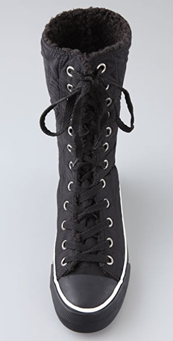 Juicy Couture Earlene Quilted Sherpa Sneakers