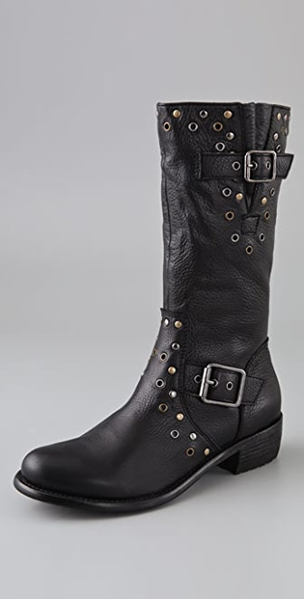 Juicy Couture Giordana Motorcycle Boots
