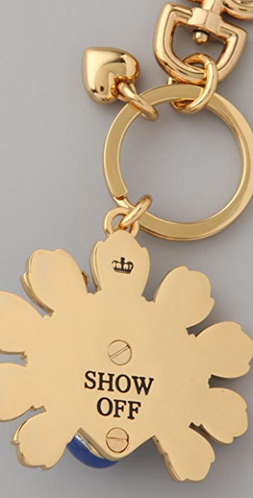 Juicy Couture Peacock Keychain