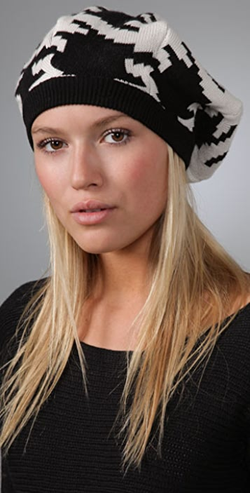 Juicy Couture Houndstooth Beret
