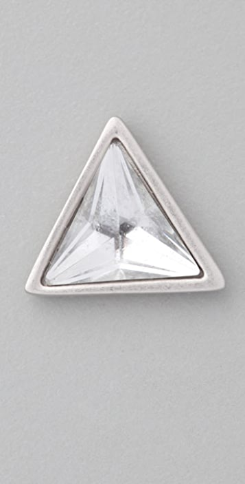 Juicy Couture Pyramid Stud Earrings