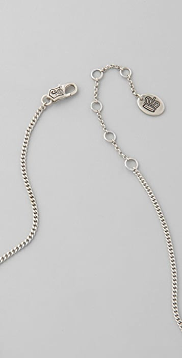 Juicy Couture Multi Chain Swag Necklace