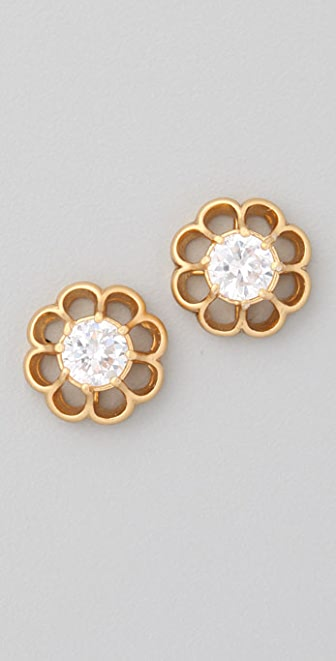 Juicy Couture Flower Setting Studs