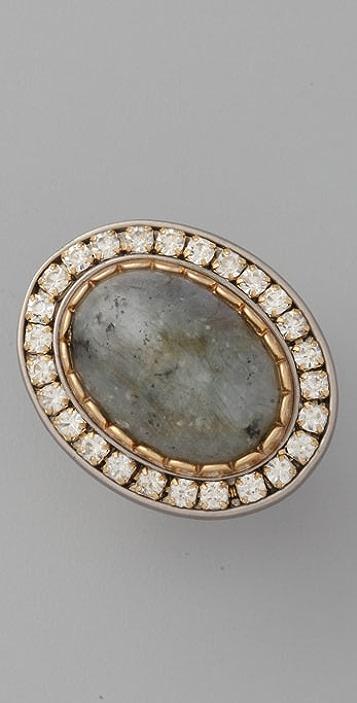 Juicy Couture Grey Labradorite Ring
