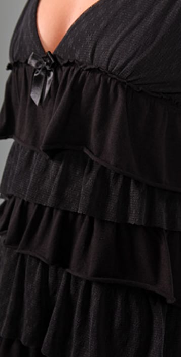 Juicy Couture Flirt Tiered Ruffle Nightie
